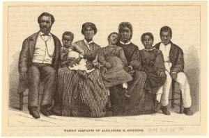 Family servants of Alexander H. Stephens.