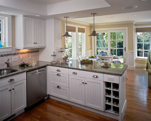 Kitchen Peninsula Home Design Ideas, Pictures, Remodel and ...