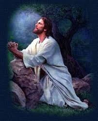 Jesus prayed