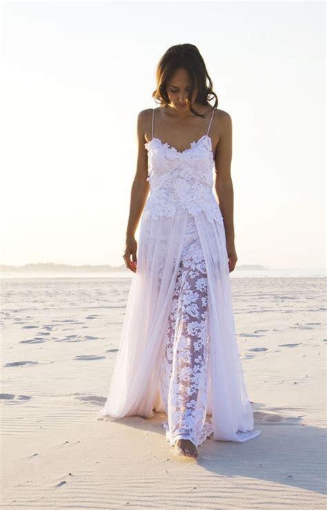 Lace bohemian wedding dress Grace loves lace www