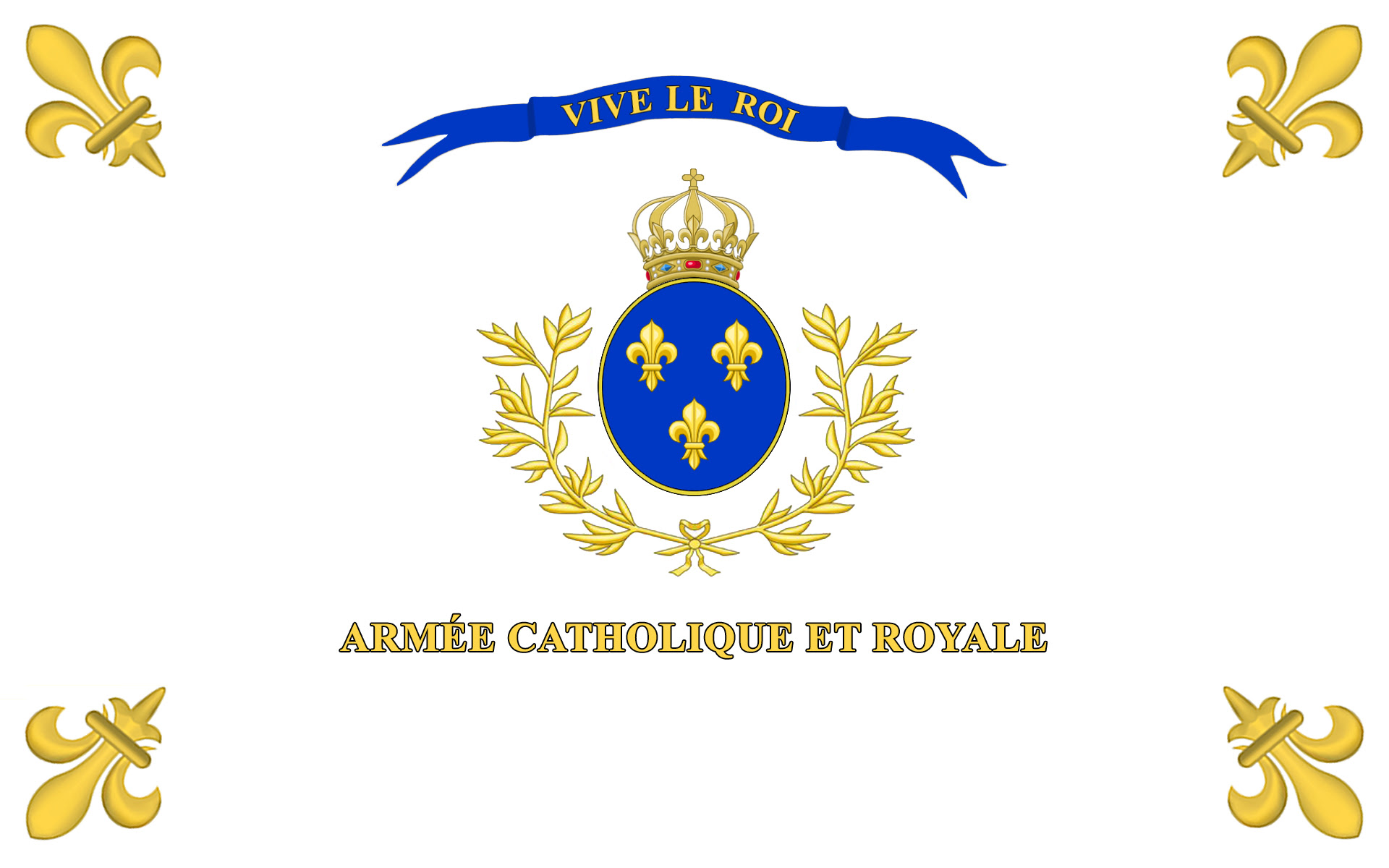 The Banner of the Catholic and Royal Army of Vendée