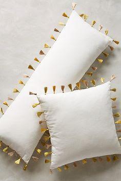 Firenze Velvet Tassel Pillow #anthrofave
