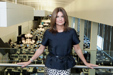 Natalie Massenet, founder of Net-a-Porter, at the company's offices in London.