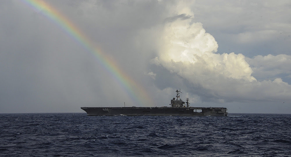 The aircraft carrier USS Harry S. Truman