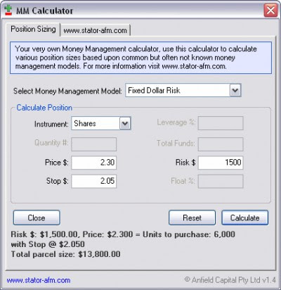 Free forex value at risk calculator