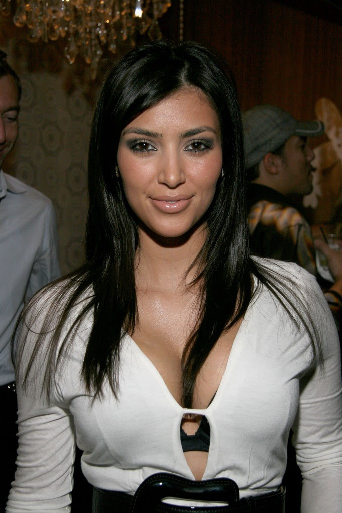 Kim Kardashian in W Lounge At Olympus Fashion Week 1 of 1  Zimbio
