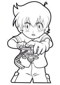 Coloriages Beyblade à Imprimer Coloriages Dessins Animes