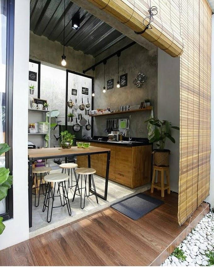 Dapur Di Taman Belakang | Ide Rumah Minimalis