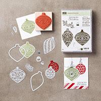 Embellished Ornaments Wood-Mount Bundle by Stampin' Up!
