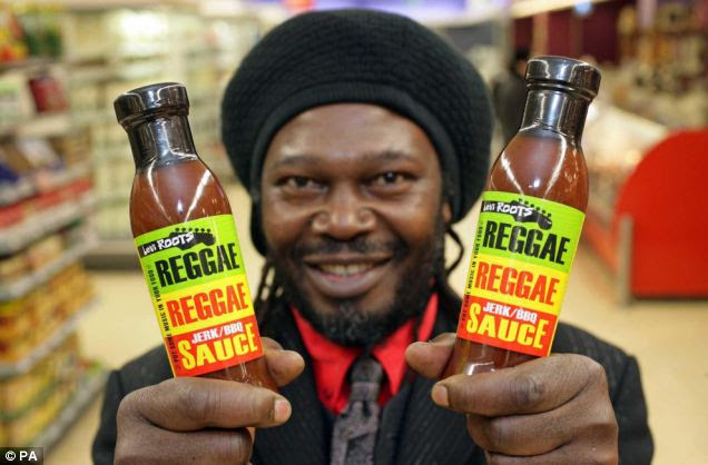 Most of Reggae Reggae Sauce entrepreneur Levi Roots's (above) eight children - by seven mothers - struggle to think of him as a family man