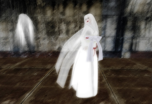 The ghost woman