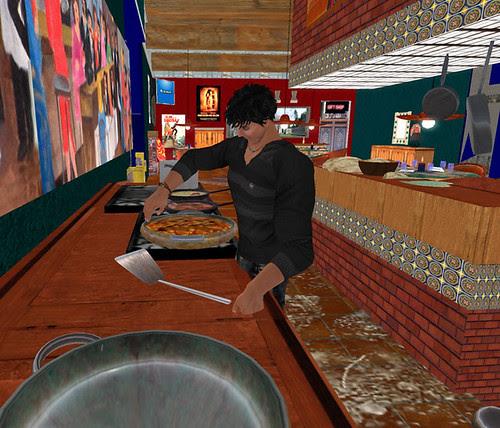 El Jefe Cafe - He cooks!!