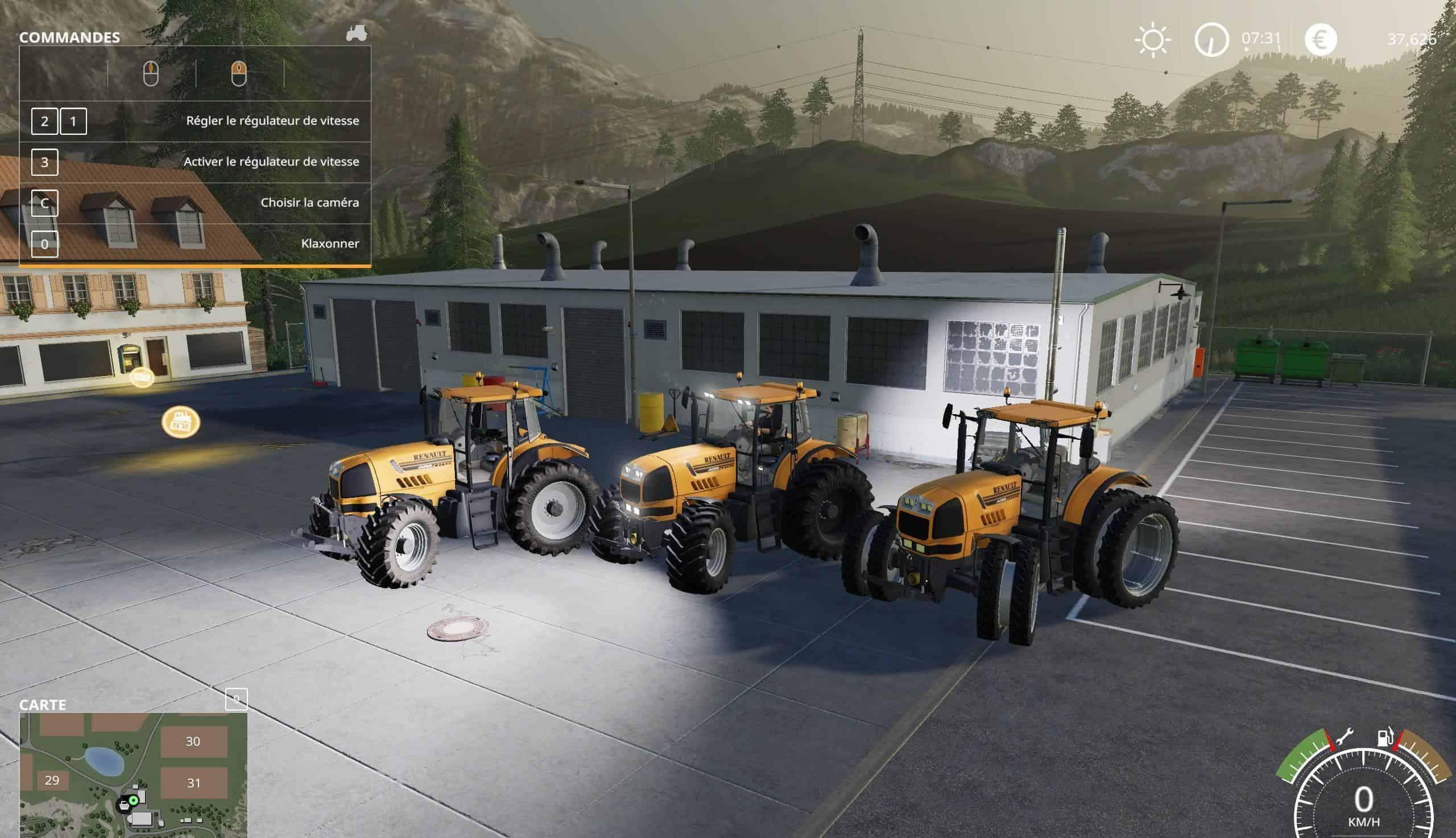Renault Atles V10 Fs19 Farming Simulator 19 Mod Fs19 Mod