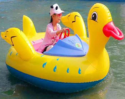 Inflatable Duck Bumper Boat For Kids