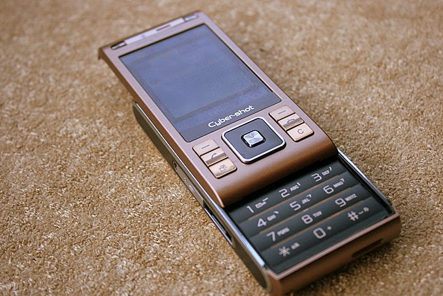 Sony Ericsson C905 is the first Cybershot mobile phone that slides up