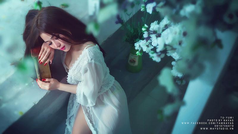Hot girl Tú Yumi khoe ngực khủng gây kích thích 4