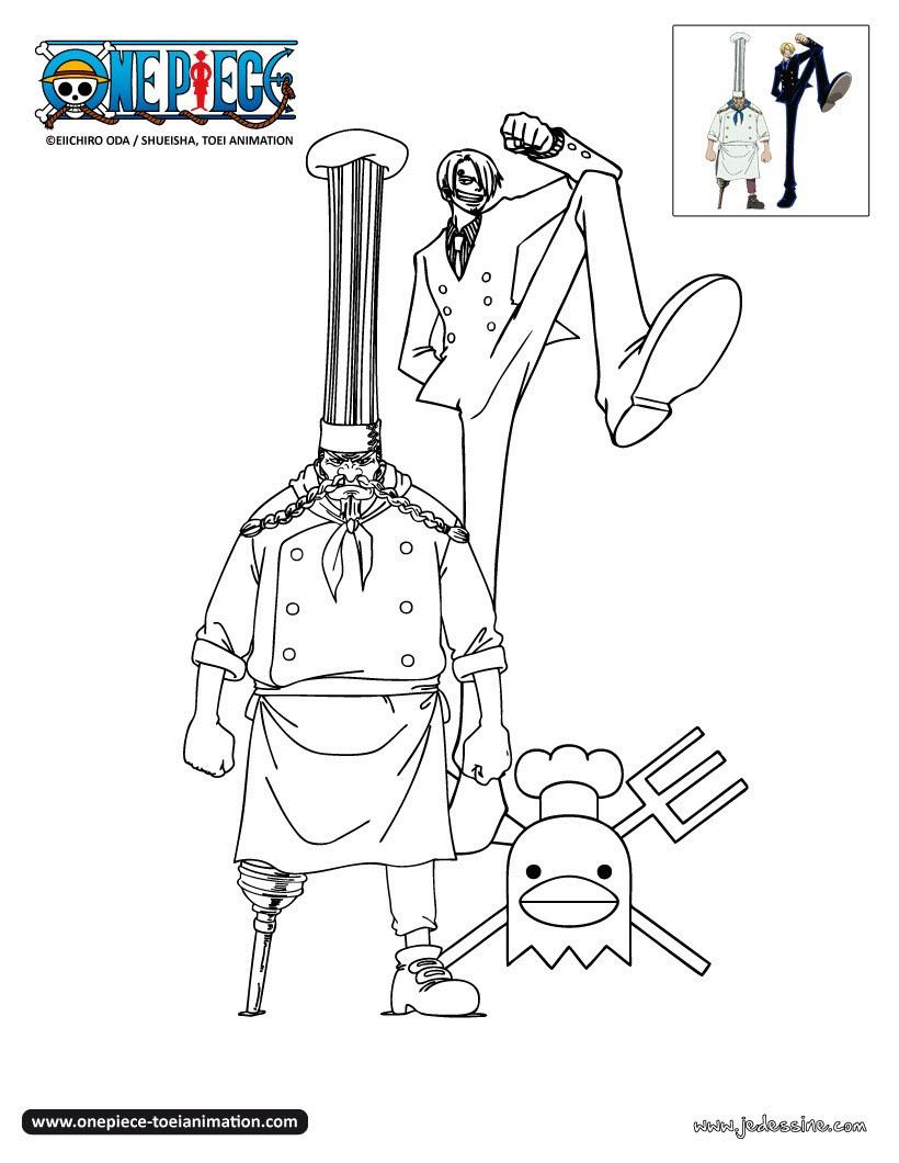 Coloriage De One Piece Wanted Djdarevecom