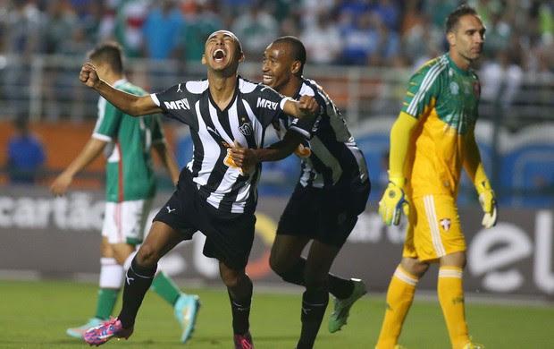 Palmeiras x Atlético-MG - comemoração gol do Galo (Foto: Marcos Bezerra / Agência Estado)