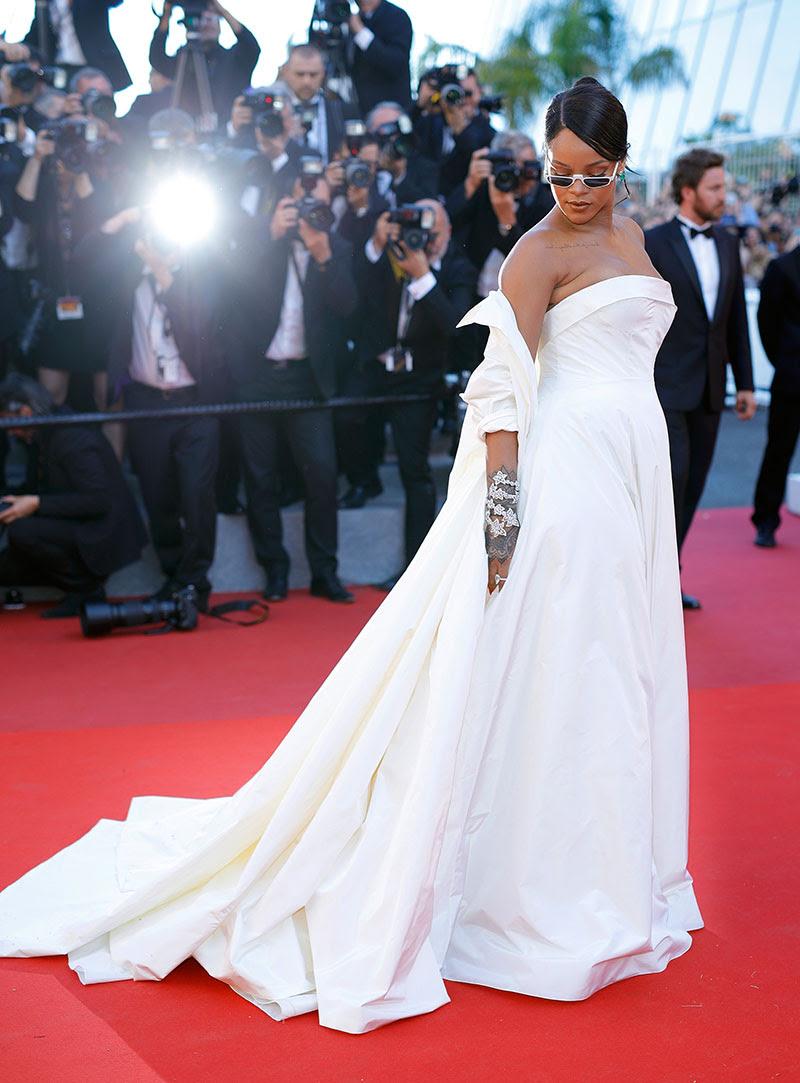 Celebrity Style: Rihanna, Bella Hadid Stun at Cannes Film Festival