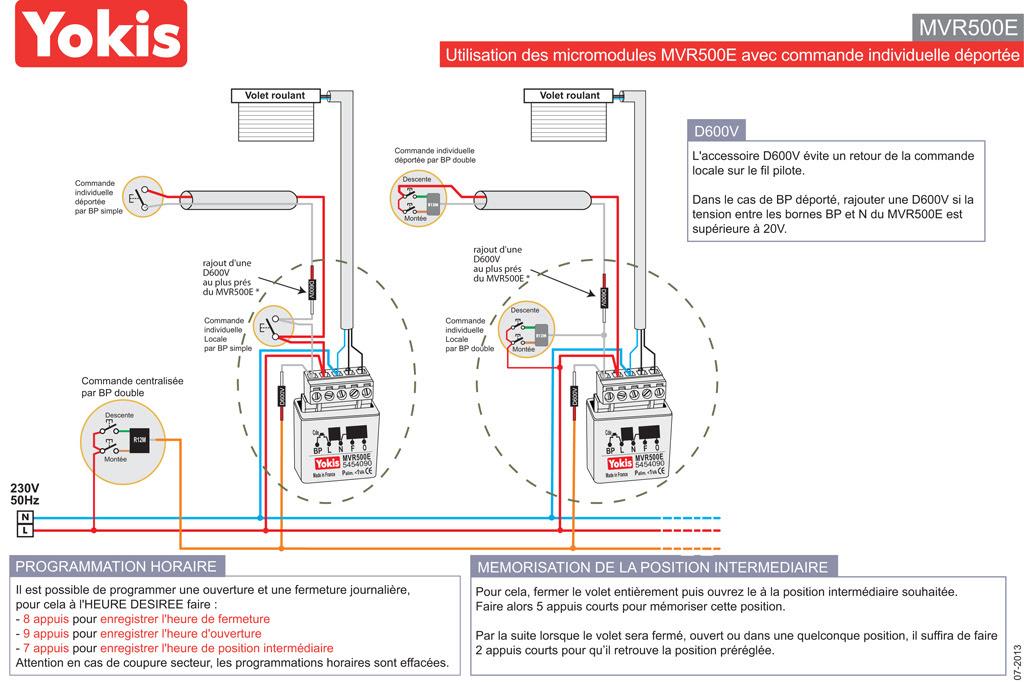 Forum Electricite Conseils Pour Le Branchement Du Fil Pilote Volet Roulant