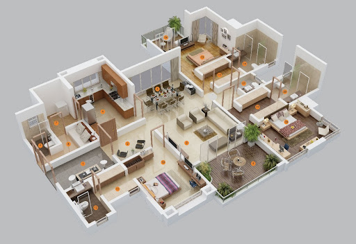 Tasmim Blog: تصاميم منازل طابق واحد في الامارات