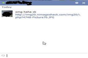 virus di chat facebook