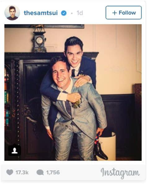 YouTube Star Sam Tsui Marries Boyfriend Casey Breves