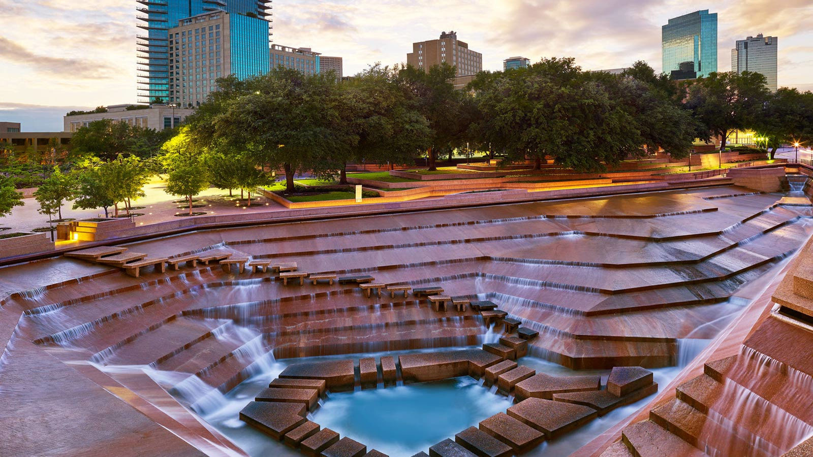 Image result for fort worth water gardens