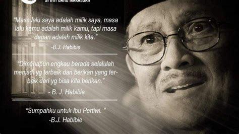 quotes bj habibie jadi inspirasi