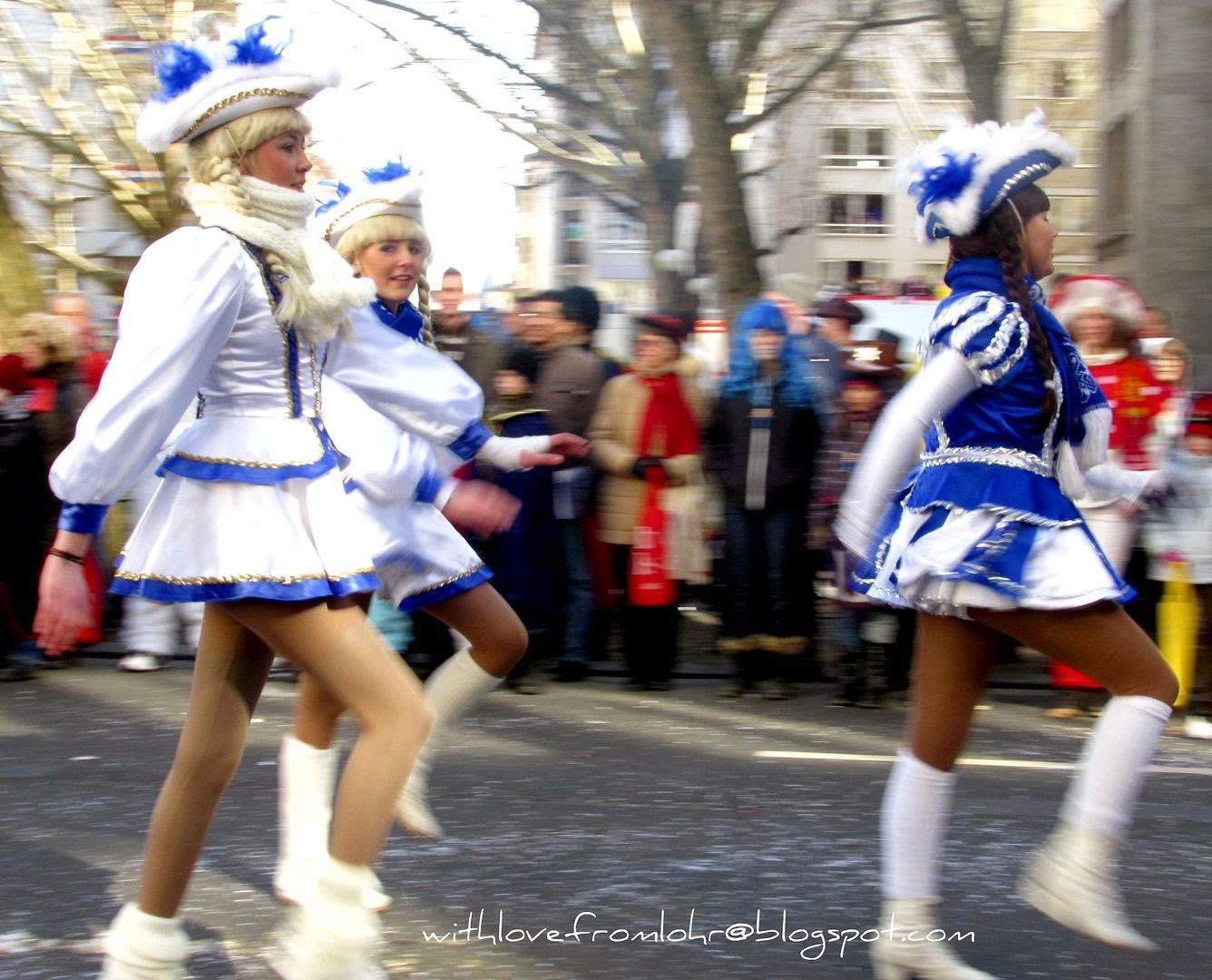 20.02.12, Today is Rosenmontag or Rose Monday in Germany. It is the highlight of the German carnival, a day of celebration which includes dressing up in costumes, parades and heavy drinking!!!