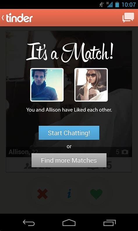 tinder  android    software reviews