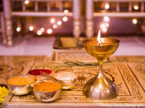 Luminous Indian Wedding by Chelsea Nicole Photography, Las