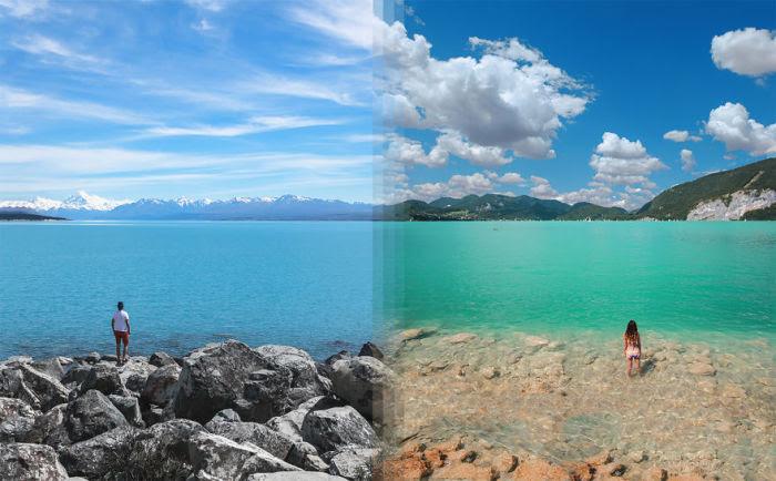 Фотографии-близнецы, сделанные в разных уголках планеты