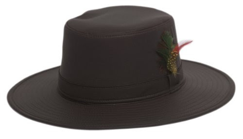 Jack Daw Super W Brim Wax Hat - Brown 59fa23531c7f