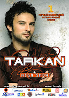 Tarkan is to stage a concert in the Latvian capital of Riga on 27 September