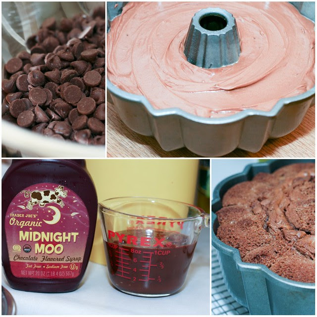 Dark Chocolate Bundt collage