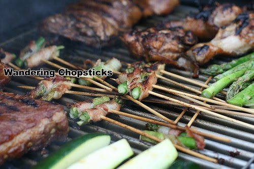 Grilled Asparagus Bacon Skewers 6