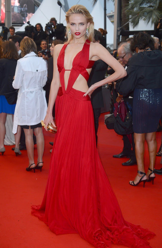 Best1 - Natasha Poly in Robrto Cavalli Cruise 2013 collection Cosmopolis premiere @ Cannes Film Festival 2012 25-05-2012