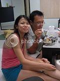 美燕和她男朋友,好像是叫志斌吧!译音,译音~呵呵