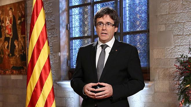 """Mensaje de Fin de Año del 'president'. Puigdemont afirma que aplicará """"sin dilación"""" el resultado de la consulta."""