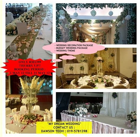 Wedding Decoration: Wedding Decor Packages In Malaysia