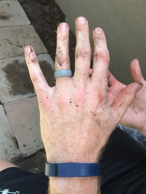 QALO Ring Review   Colors, Wedding and Mud run