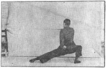 《昆吾劍譜》 李凌霄 (1935) - posture 70