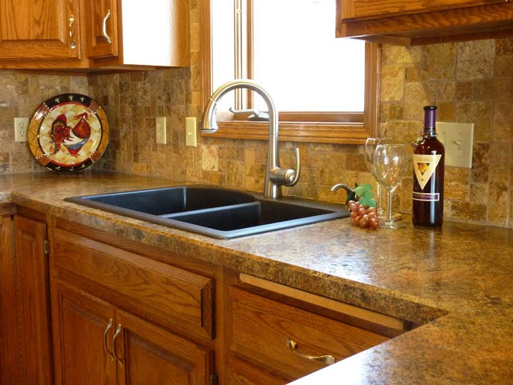 Kitchen Counter Tile Ideas - Home Design Jobs