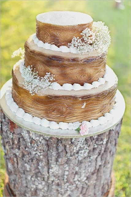 My Wedding Inspiration: troncos de árboles como motivo decorativo en las bodas