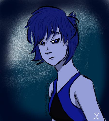 Blue is such a sad color