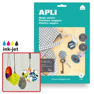 plastico mágico - encoge en el horno