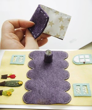 Fairy-tale carriage of felt - organizer for paper napkins (8) (300x359, 87Kb)