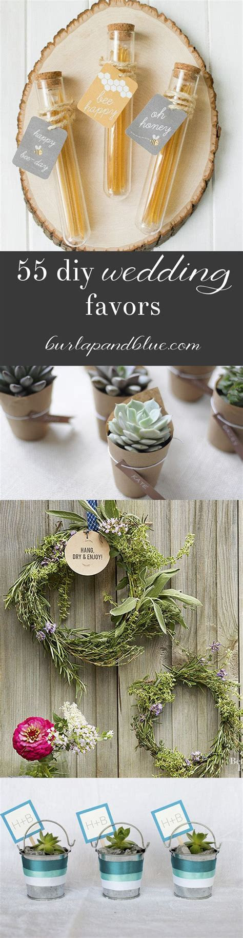 55 diy wedding favors   The Big Day ?   Wedding gifts for