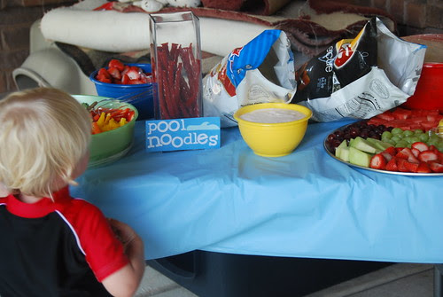 swim party snacks